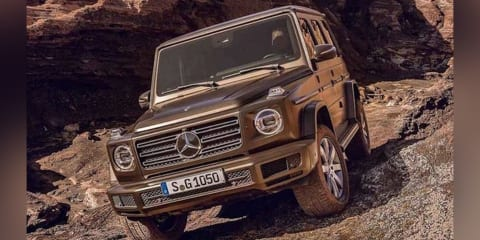 2018 Mercedes-Benz G-Class leaked, off-road 'Schöckl-ready' tech detailed