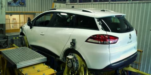 Renault Clio wagon teased in development video