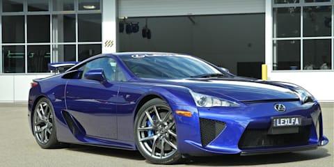 Lexus LFA exclusive behind-the-scenes video