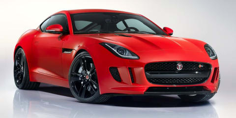 Jaguar F-Type Coupe priced from $119,900