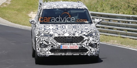 2019 Seat Tarraco spied