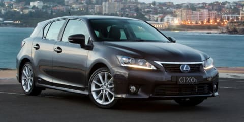 2012 LEXUS CT 200h SPORTS LUXURY