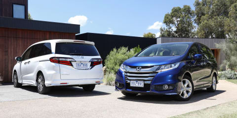 2018 Honda Odyssey pricing and specs