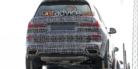 2019 BMW X7 spied again