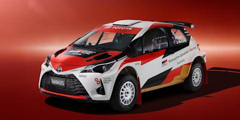 Toyota Gazoo Racing Australia rally team announced