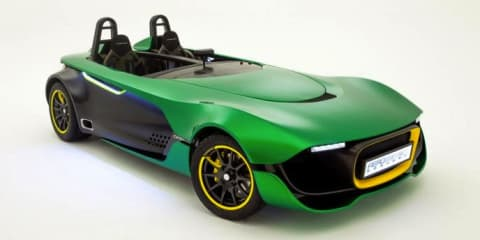 Caterham AeroSeven concept officially unveiled
