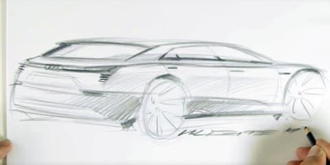 Audi 'Q6' e-tron quattro concept sketched out for Frankfurt - video