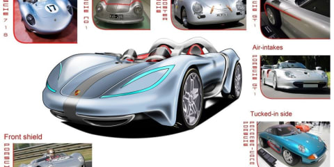 Porsche Sebring Spyder Concept