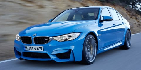 BMW M3, M4 twins revealed: 317kW, 550Nm, 0-100km/h in 4.1sec