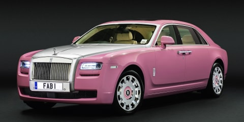 Rolls-Royce Ghost 'FAB1' created for charity