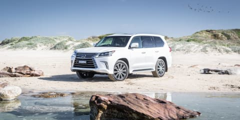2018 Lexus LX570 review