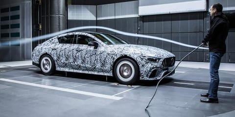 Mercedes-AMG 'GT Coupe' teased again