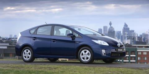 Toyota Prius scores highest GVG score