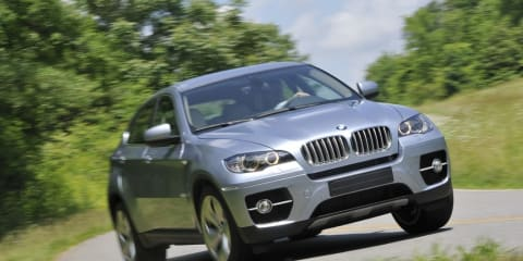 BMW X6 Hybrid on the way