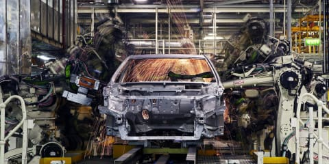 Toyota Australia announces $123m investment to build 2015 Camry