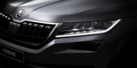 2017 Skoda Kodiaq teased again, September 1 debut confirmed:: video