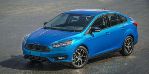 2015 Ford Focus sedan facelift revealed ahead of New York auto show