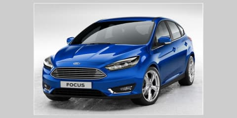 Ford Focus facelift revealed
