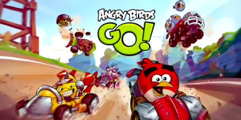 Angry Birds hits the track in new mobile racing app