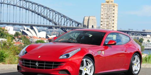 Ferrari FF launches in Australia