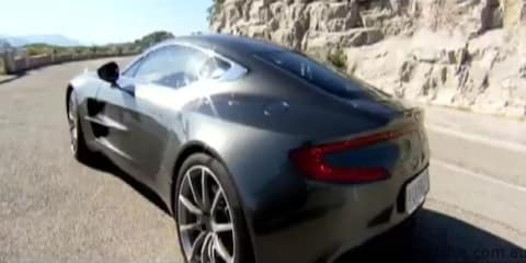 Aston Martin One-77 Video