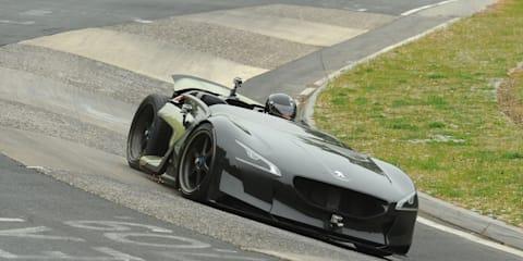 Peugeot EX1 Concept smashes Nurburgring EV lap record