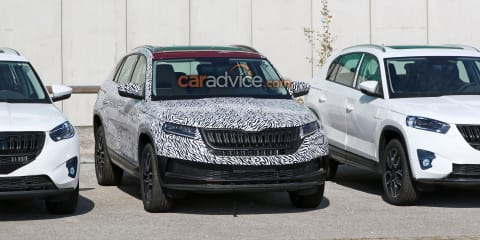 2019 Skoda Kodiaq GT coupe-SUV almost ready