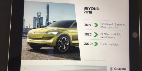 Skoda Australia shares new model plans out to 2021