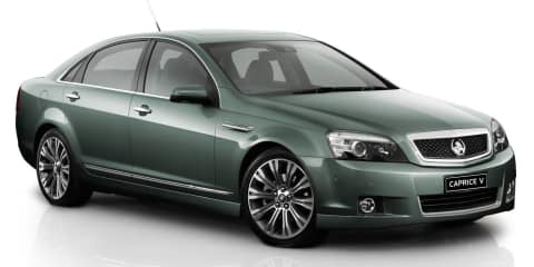 Holden WN Caprice: $10K price cut, new interior, but no aluminium bonnet and bootlid