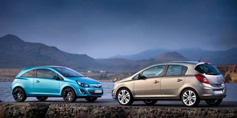 Opel Australia reveals Corsa, Astra, Insignia details for 2012
