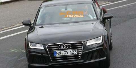 2012 Audi S7 spied on the Nurburgring
