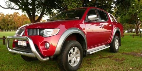Mitsubishi Triton Recalled