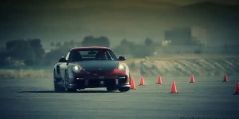 Video: How a Porsche GT2 RS corners so fast