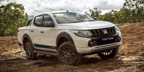 2018 Mitsubishi Triton Blackline revealed
