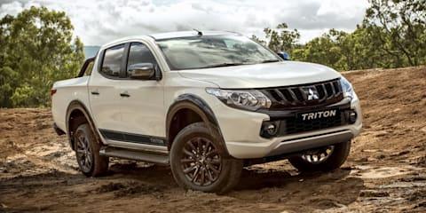2018 Mitsubishi Triton Blackline revealed