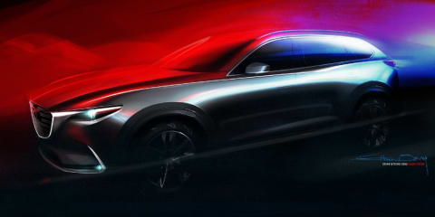 2016 Mazda CX-9 previewed ahead of LA auto show debut