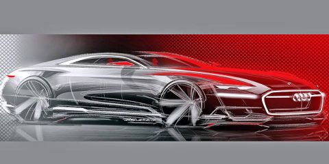 Audi Prologue concept car sketches leaked ahead of LA reveal