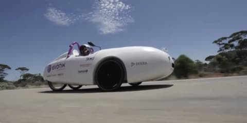 Wind Explorer wind-power car travels 4800km across Australia
