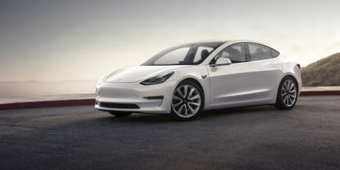 Tesla Model 3 production halted