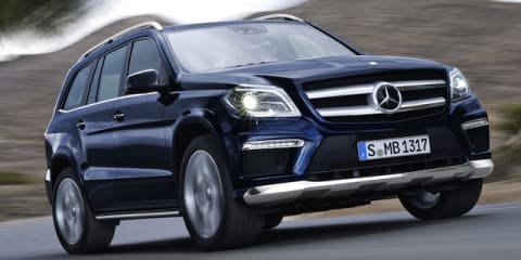 Mercedes-Benz GL-Class range updated