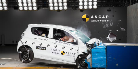 Holden Spark, Jaguar XF, Kia Sportage, Skoda Superb score five-star ANCAP safety rating