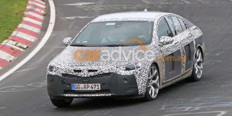 2018 Holden Commodore/2017 Opel Insignia interior and exterior spied