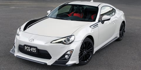 Toyota 86 Blackline on sale in Australia: $37,990 TRD special celebrates 86 Racing Series