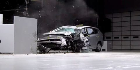 IIHS explains frontal offset crash test