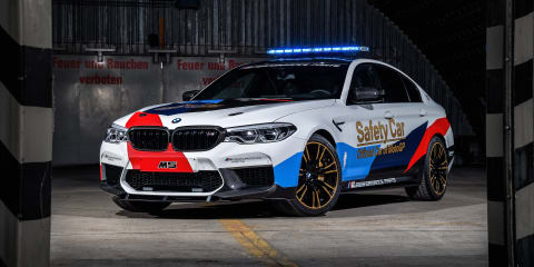 BMW M5 MotoGP safety car revealed