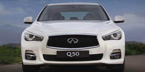 Infiniti Q, QX naming structure takes effect in Australia