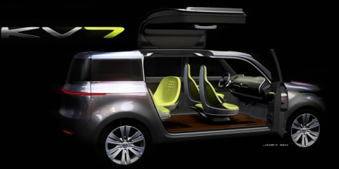 Kia KV7 Concept to debut at 2011 North American International Auto Show