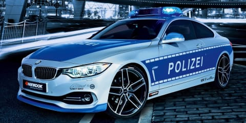BMW 428i Coupe gets police treatment by AC Schnitzer