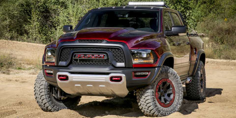 Ram Rebel TRX concept debuts with detuned Hellcat V8 engine