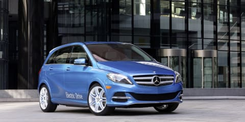 Mercedes-Benz B-Class Electric Drive: 300Nm torque, 200km range